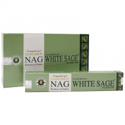 GOLDEN NAG WHITE SAGE ( SALVIA BLANCA )