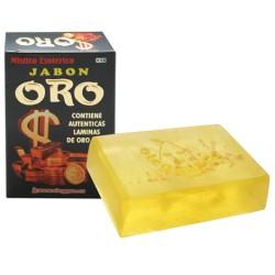 JABON CON ORO